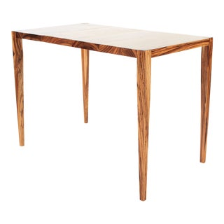 Paere Dansk Style Modern Zebrano Desk For Sale