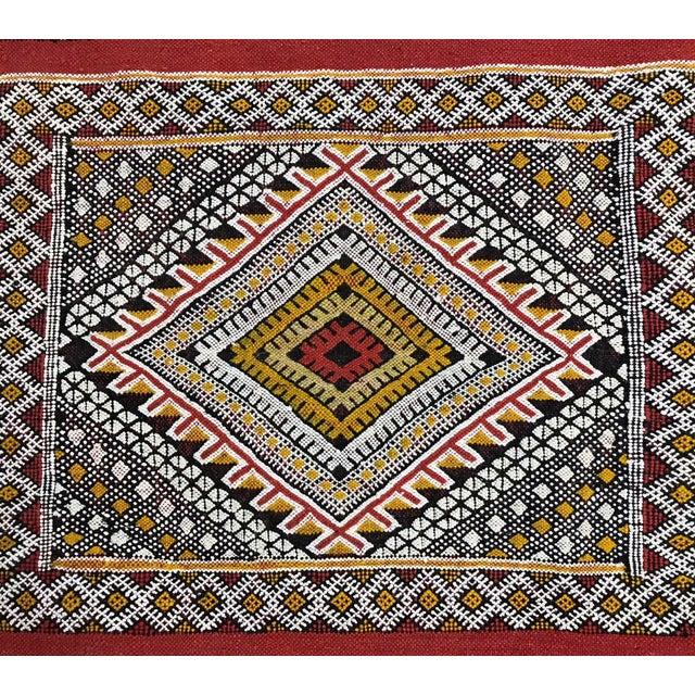Moroccan Handmade Kilim Rug - 7′6″ × 11′6″ - Image 6 of 11