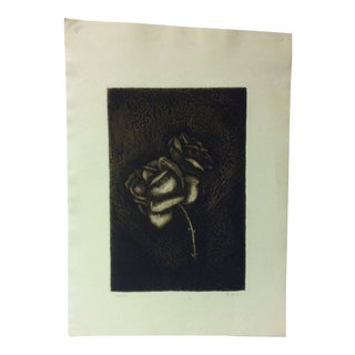 """Limited Edition Signed Numbered (12/20) Print, """"The Rose"""" by R. Jon For Sale"""