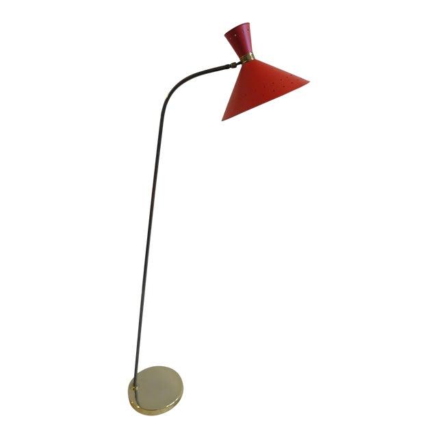 1950 Maison Lunel Floor Lamp For Sale
