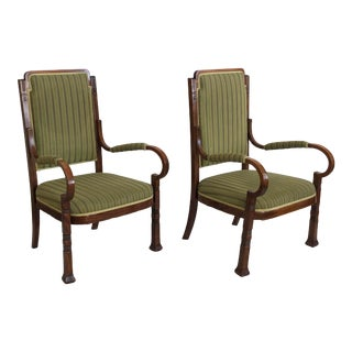 Rare Salon Armchairs Nr. 14 by Thonet, Set of Two For Sale
