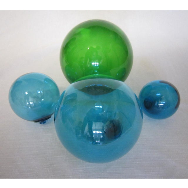 Vintage Glass Fishing Floats - Set of 4 - Image 4 of 4