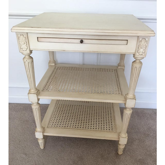 Ethan Allen Elise Side Table - Image 2 of 8