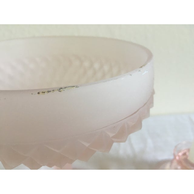 Mid-Century Pedestal Bowl & Candle Holder - Pair - Image 7 of 9