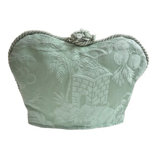 Luxury Chinoiserie Damask Crown Teacosy For Sale