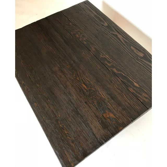 Not Yet Made - Made To Order Dos Gallos Custom Reclaimed Wood Rustic Modern Coffee Table For Sale - Image 5 of 7