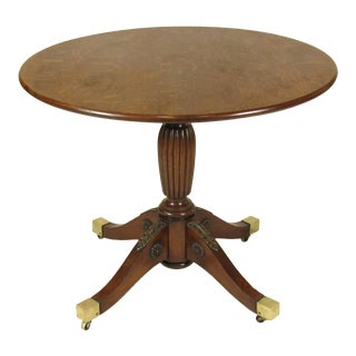19th Century French Empire Tip-Top Dining Table For Sale