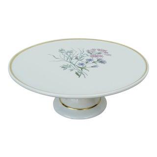 Ginori Italian Porcelain Cake Plate For Sale