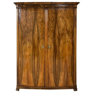 19th Century Biedermeier Armoire Chest