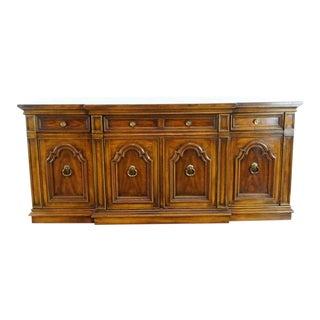 Mediterranean Thomasville Wooden Sideboard For Sale