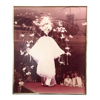 1960's Haute Couture Framed Photography For Sale