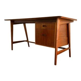 Danish Modern Walnut Desk