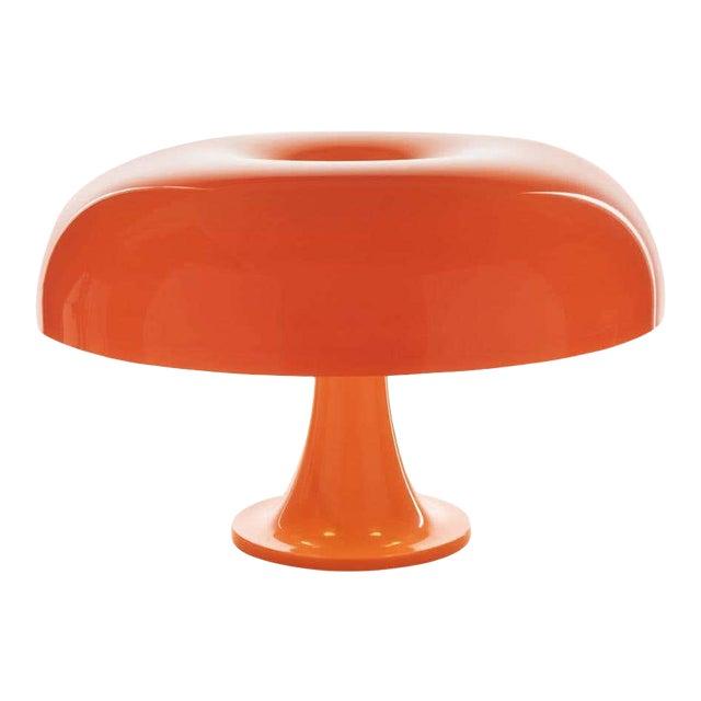 Giancarlo Mattioli 'Nesso' Table Lamp in Orange for Artemide For Sale