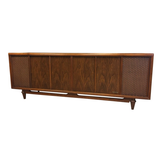 Mid Century Modern Magnavox Console Record Player For Sale