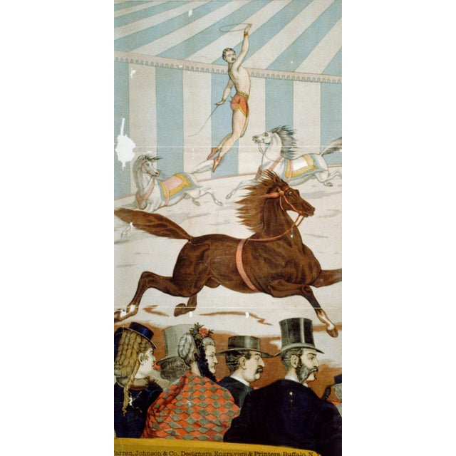 In the Ring - Four Prints of Circus Art From 1800s - Image 2 of 5