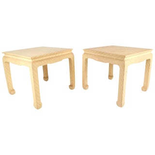 Mid-Century Modern End Tables by Baker Furniture Company For Sale