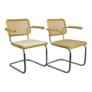 1970s Thonet Cesca Chairs - a Pair For Sale