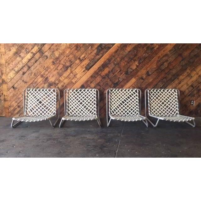 Vintage Brown Jordan Sand Chairs - Set of 4 - Image 2 of 5