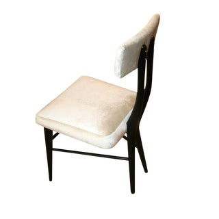 Sculptural Set of Six 1950s Dining Chairs For Sale