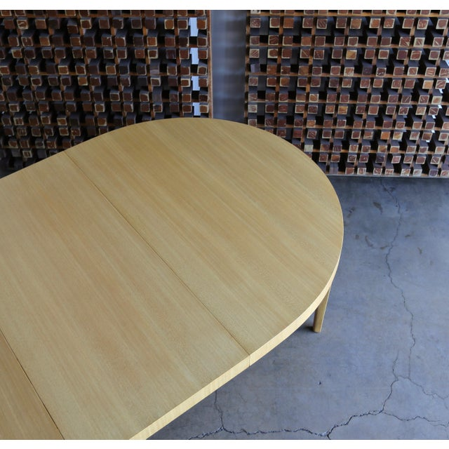 Edward Wormley Dining Table for Dunbar Circa 1950 For Sale In Los Angeles - Image 6 of 13