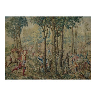 18th Century Antique Tapestry From Royal Manufacture of Gobelins For Sale