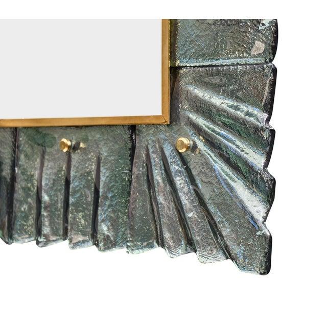 Murano Glass Aqua Mirrors For Sale - Image 9 of 10