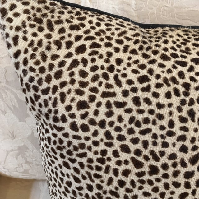 Kreiss Furniture Leopard Spotted Hide Pillow - Image 3 of 5