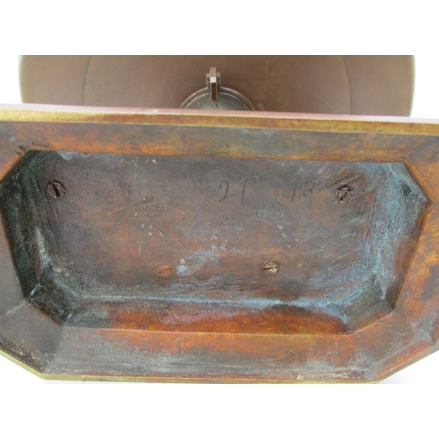 Egyptian Revival Bronze Tazza For Sale - Image 9 of 13