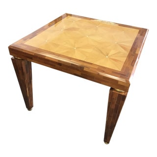 Vintage Jimeco Lacquered Wood Game / Dining Table For Sale