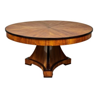 Round Biedermeier Center Table For Sale