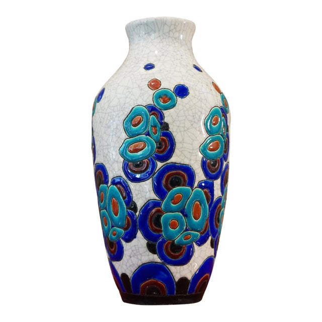 1920s Charles Catteau Vase For Sale