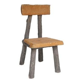 Faux Bois Chair For Sale
