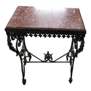 Oscar Bach Style Marble Table