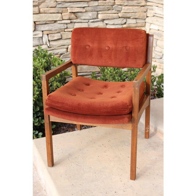 Mid-Century Cube Chairs - A Pair - Image 11 of 11