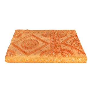 Tangerine Sheesha Bed Cover For Sale
