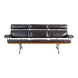 """First Year Production """"Three-Seat Sofa"""" by Charles Eames for Herman Miller, 1984 For Sale"""