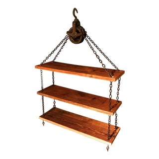 Industrial Chain Hoist Shelves