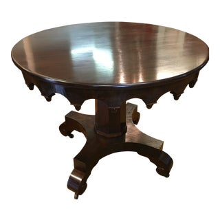 19th Century Empire Center Table For Sale