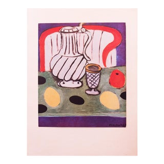 "1946 Henri Matisse Original ""Lemons and the Pewter Jug"" Parisian Period Lithograph For Sale"