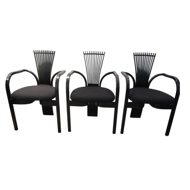 "Torstein Nilsen for Westnofa ""Totem"" Chairs - Set of 3 For Sale"