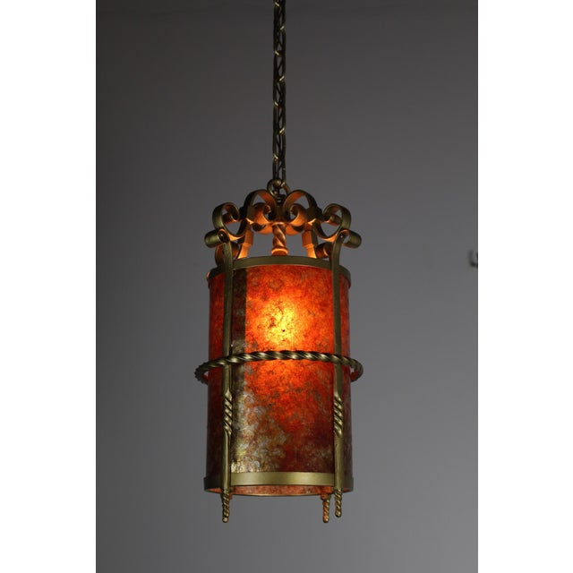 Spanish Colonial Mica Cylinder For Sale - Image 5 of 8