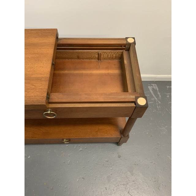 Traditional Henredon Serving Cart For Sale In Washington DC - Image 6 of 9