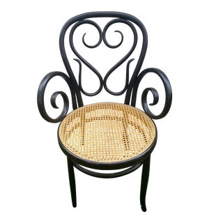 Salvatore Leone Cafe Daum Italian Bentwood Side Chair For Sale