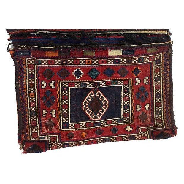 Turkish Wool Saddlebag - Image 3 of 6