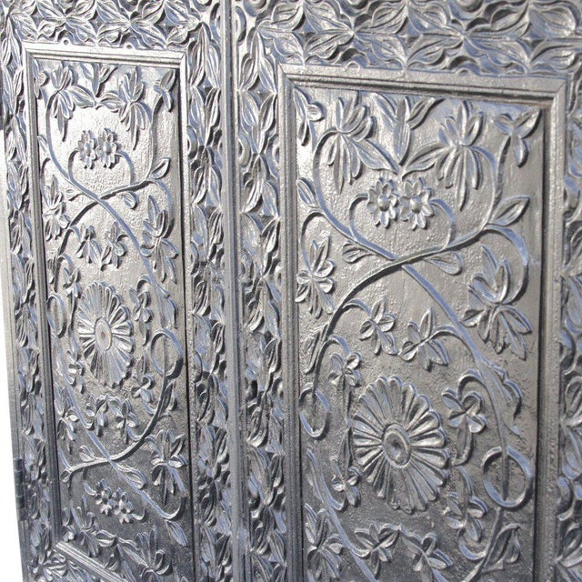 Anglo-Indian Anglo-Indian Carved Indo Portuguese Cabinet For Sale - Image 3 of 6