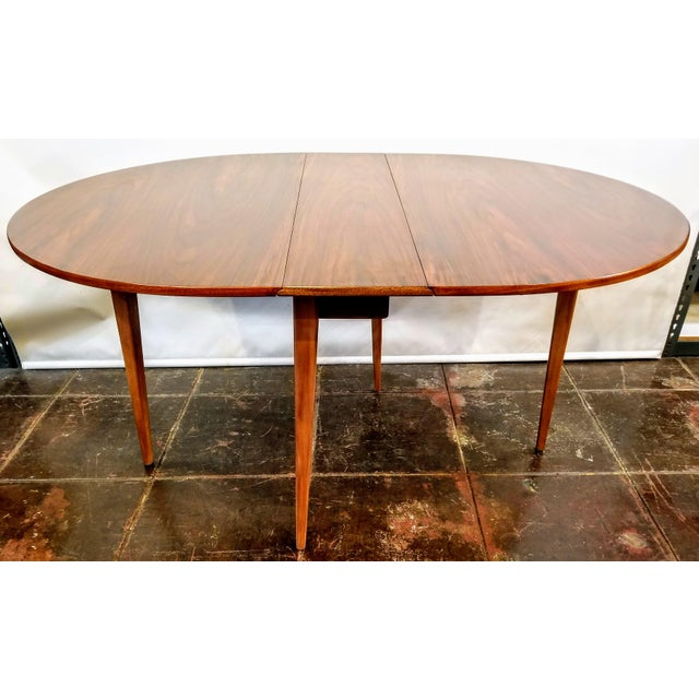 Mid-Century Danish Modern Sutcliffe of Todmorden S Form Drop Leaf Table For Sale - Image 12 of 12