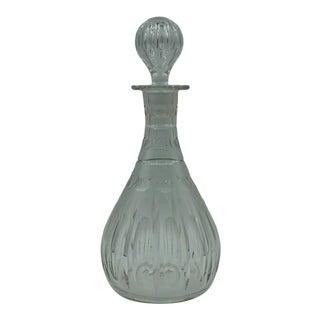 1860 Hawkes Cut Crystal Tallboy Decanter For Sale