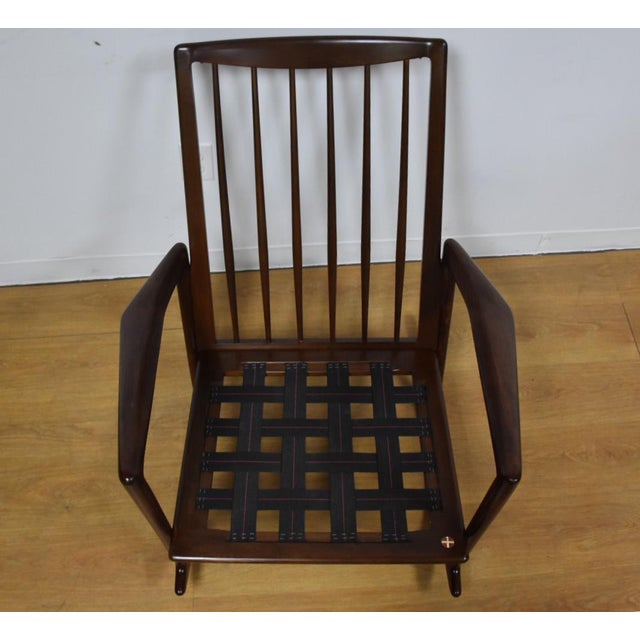 Ib Kofod Larsen for Selig Rocking Chair - Image 11 of 11