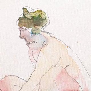 Victor DI Gesu Seated Nude Preview