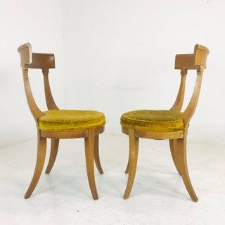 Pair MCM Klismos Side Chairs Preview